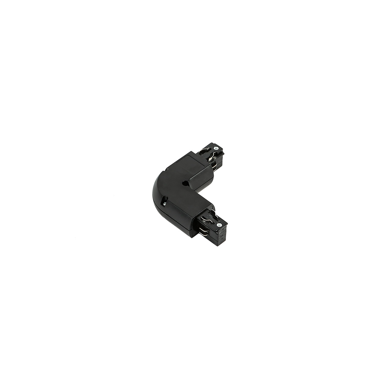 TR-L-JOINT-BL 4 phase track - L joint - black