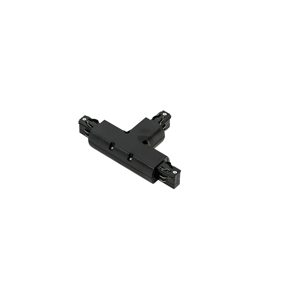 TR-T-JOINT-BL 4 phase track - T joint - black